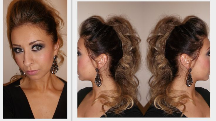 Get Ready With Me - Night time updo - Clubbing Hairstyle