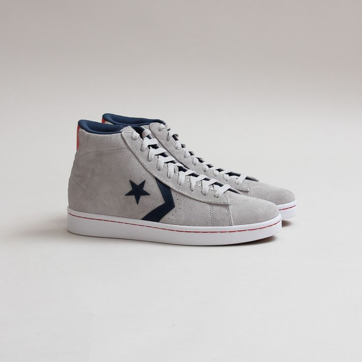 "Converse Pro Leather Skate ""Oyster Grey"" #converse"