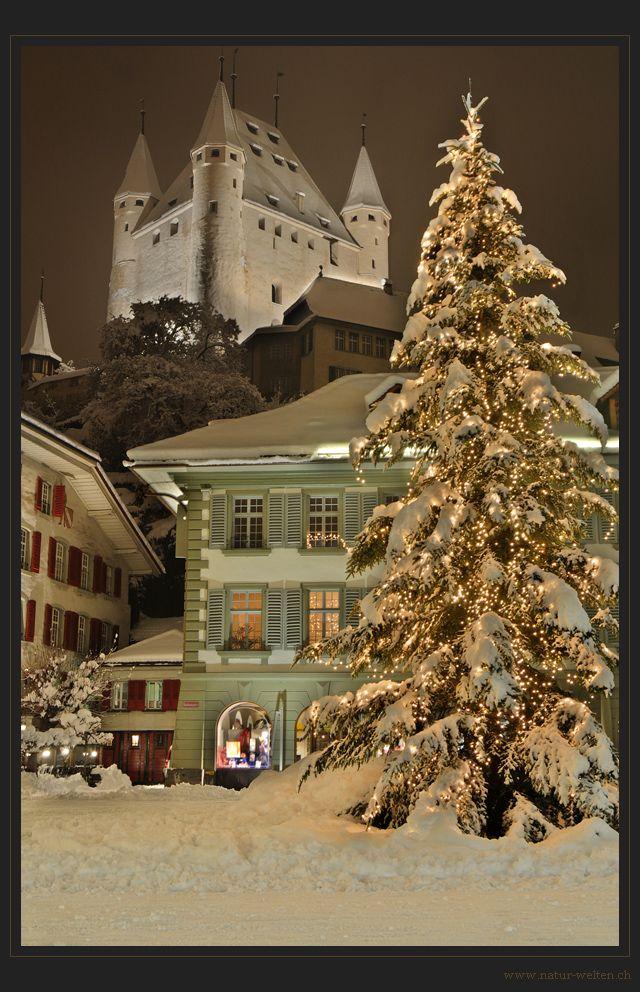 Frohe Weihnachten aus Thun von Stefan Grünig
