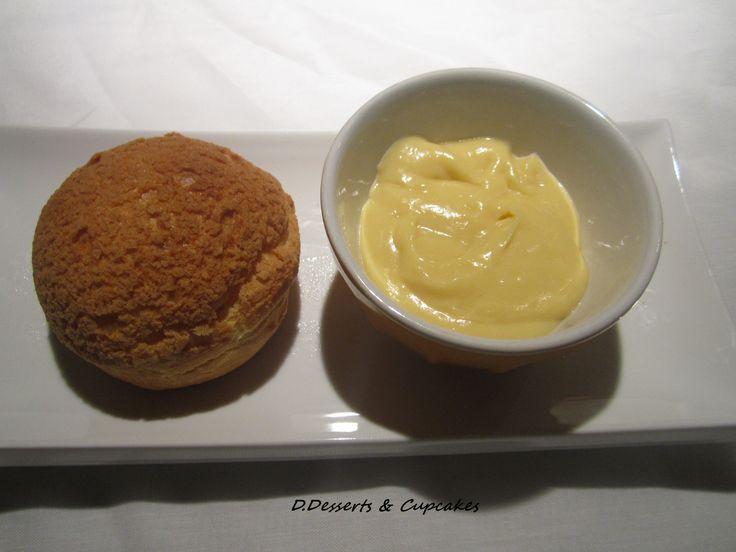 Choux craquants et crème pâtissière à l'érable...recette testée et approuvée!