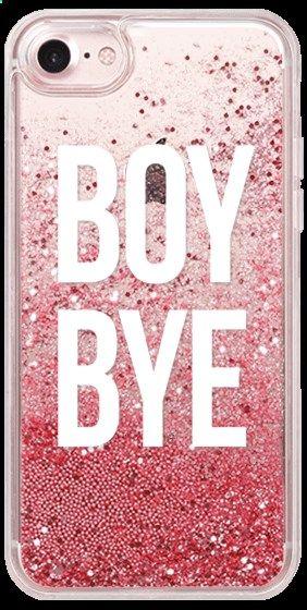 Casetify iPhone 7 Glitter Case - boy bye by Kiki's Bay #Casetify