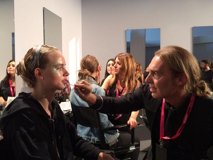 #makeup #maccosmetics #glamourbeautyshow @glamourmag  https://business.facebook.com/mammarough/?business_id=1806432116238825