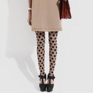 Polka Dot Leggings https://www.facebook.com/MissOlinaFashion http://www.missolina.com/