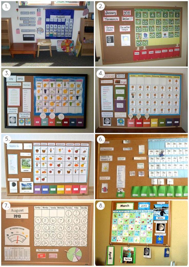 Montessori Calendar Love