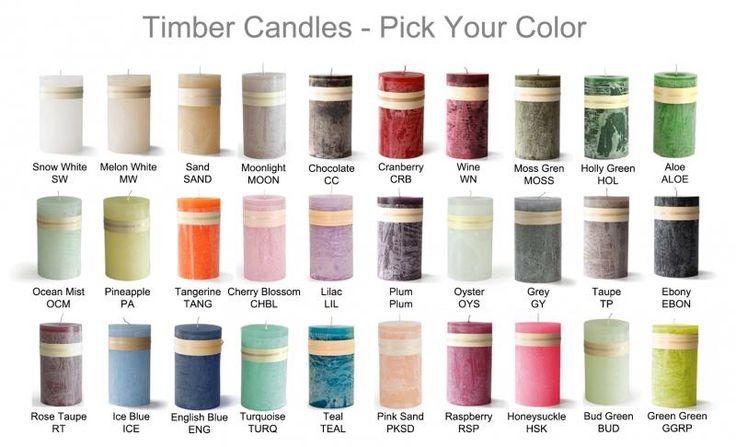 Timber candles - Vance Kitira - www.livingbyvanja.dk