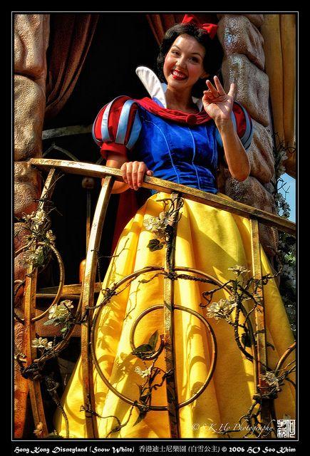 Hong Kong 香港 - Hong Kong Disneyland (Snow White)  香港迪士尼樂園 (白雪公主) by SKHO , via Flickr