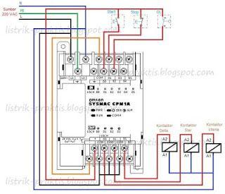 24 best electrik wiring images on pinterest electrical engineering wiring plc pengasutan motor star delta ccuart Image collections