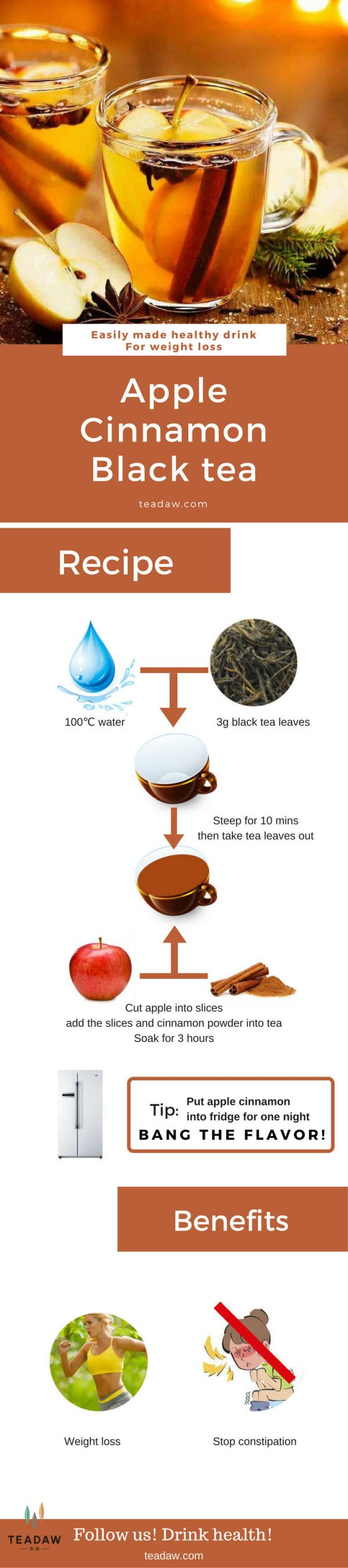 Recipe about Easily Making Apple Cinnamon Tea #Tea #Specialdrink