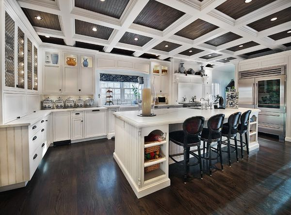 Try To Create Strong Contrasts For An Eye Catching Look Kitchen, Ideas, Diy