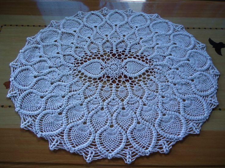 easy crochet dollies patterns | Crochet Doily Pattern Sunflower | Crochet Guild