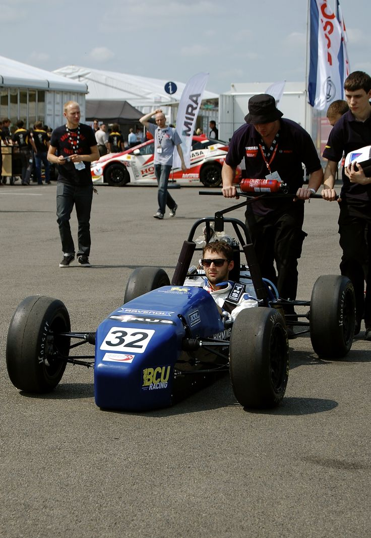 Heading back to the garage at Formula Student