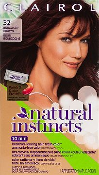 Hair Color Clairol Clairol Natural Instincts 32 Egyptian Plum (Burgundy Brown) Ulta.com - Cosmetics, Fragrance, Salon and Beauty Gifts