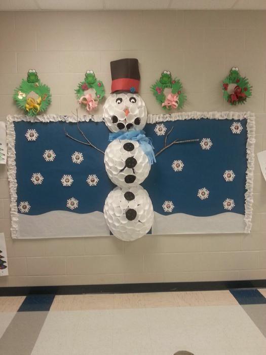 Frosty the Snowman! - Winter Bulletin Board