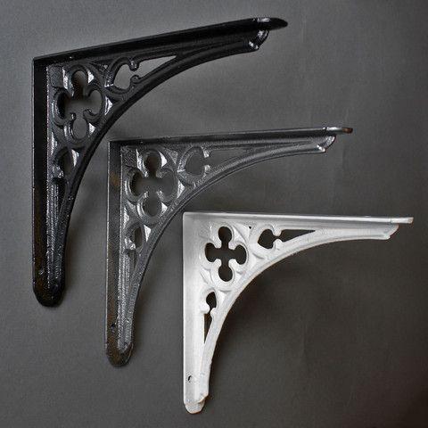 antique gothic bracket cast iron brackets