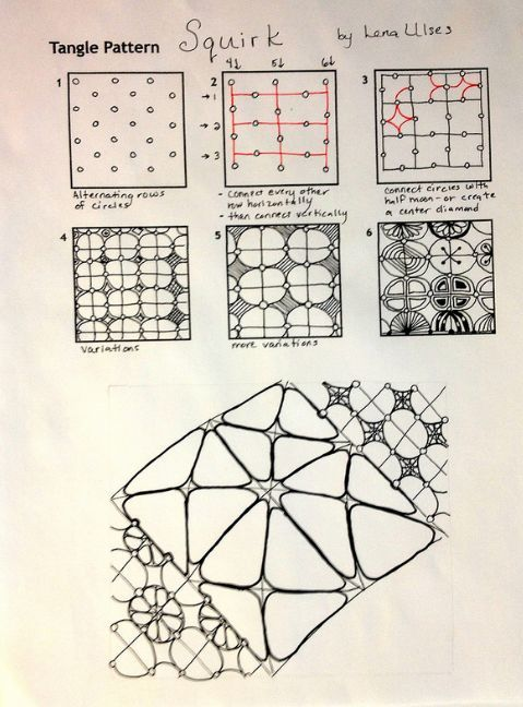 Zentangle Patterns Step By Step - Bing Images