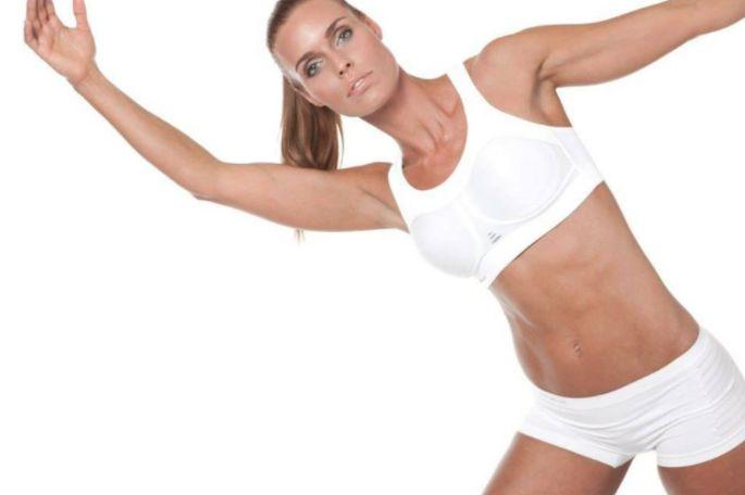 Pure Lime high impact sports bra