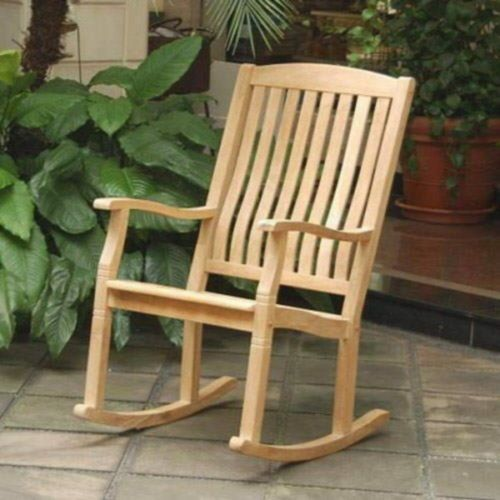 Rocking chairs, Teak and Furniture on Pinterest