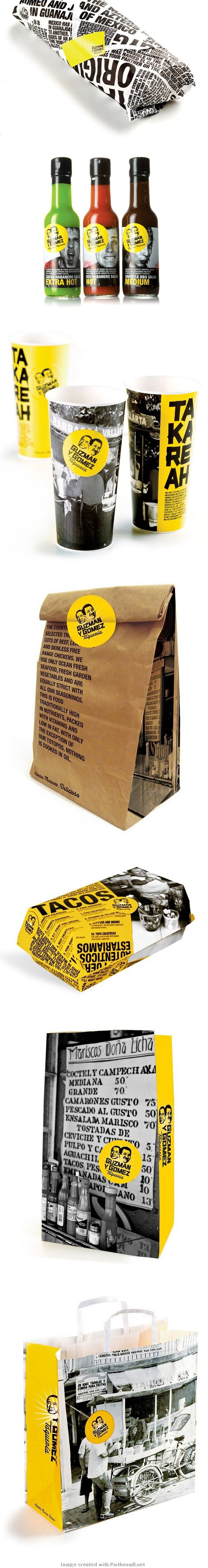 The Creative Method Great Package Design for Guzman Y Gomez by The Creative Method