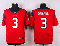 Houston Texans #3 Tom Savage Red Elite Stitched Jersey Price $25