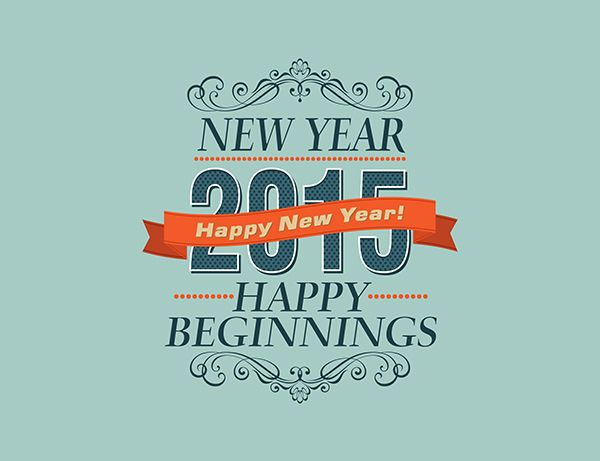 Happy New Year 2015 Greeting Cards #2015newyear #newyear2015wallpapers #2015calendar #2015greetingcards #vectorgraphcis