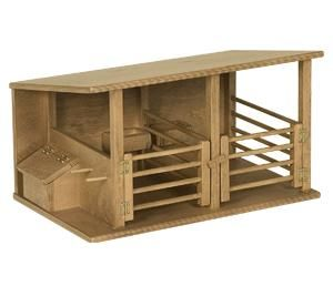 Amish Holzspielzeug Pferdestall