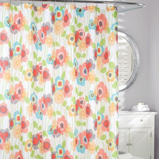 Freshen up your bathroom decor the easy way with a new Moda Shower Curtain.
