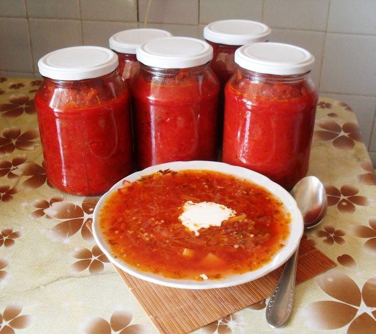 Супы на зиму в банках рецепты фото