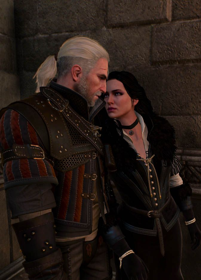geralt and yennefer by - photo #2