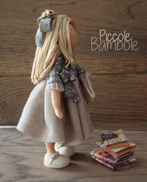 piccolebambole.jimdo.com facebook:  PiccoleBambole Porcellana Fredda - cold porcelain
