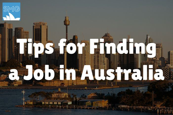 Looking for a job in Australia? Here are some Tips for Finding a Job in Australia to help with your job search down under.