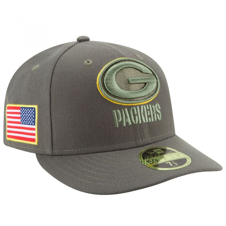 Green Bay Packers Salute to Service Low Crown 59Fifty Cap at the Packers Pro Shop