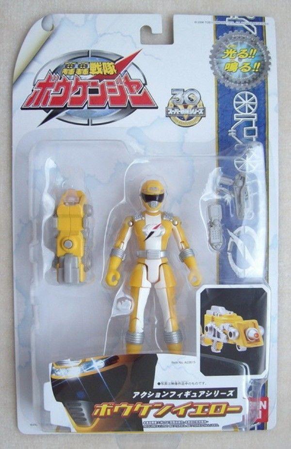 Sentai Boukenger Bouken Yellow / Power Rangers Operation Overdrive Yellow Ranger #PowerRangersSuperSentai