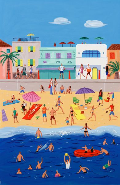 Chris Long - Beach scene