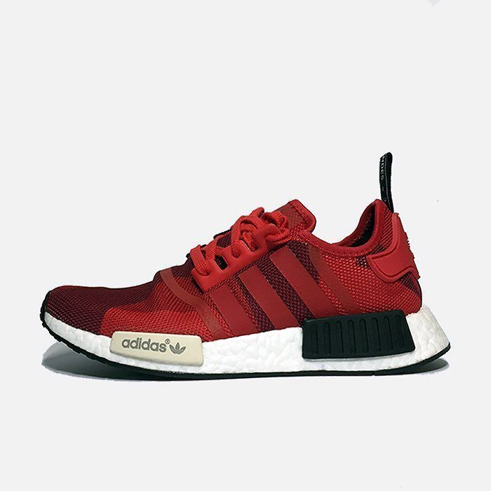 all red adidas r1 Weave Wire Mesh