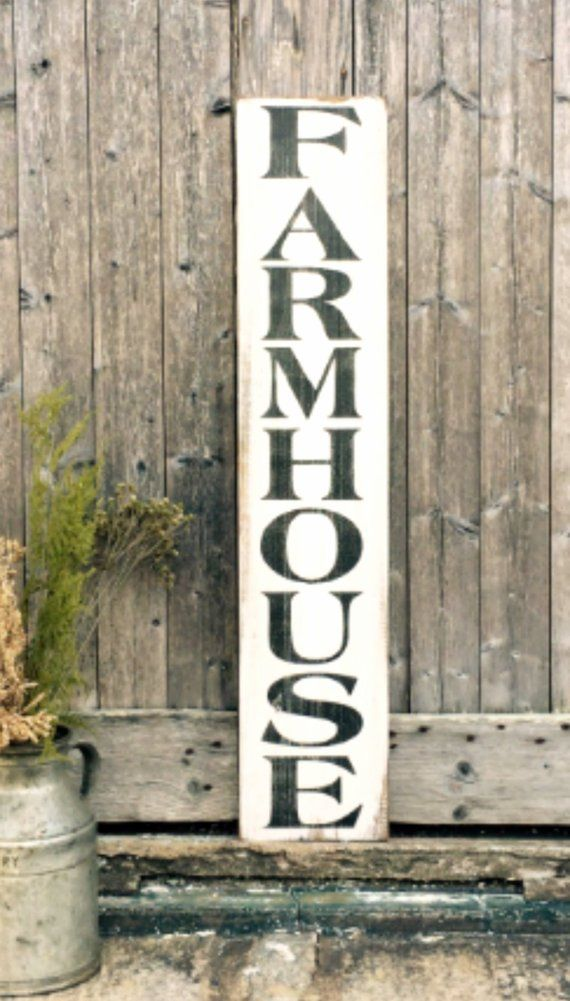 Farmhouse Wood Sign Vertical Wall Art Farm Home Decor Etsy In 2020 Farmhouse Wood Sign Farm Wall Decor Vertical Wall Art
