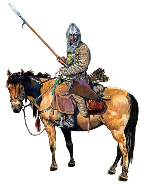 Crimean Tatar cavalryman, early 16th century
