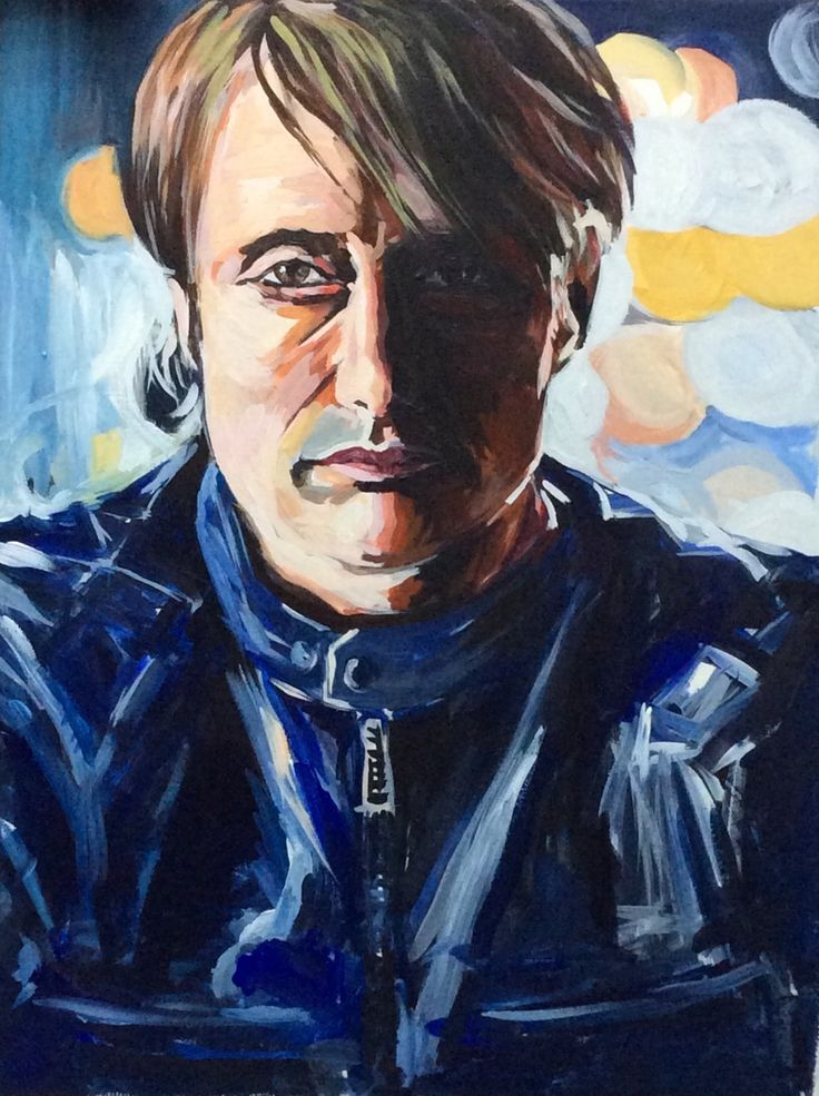 Hannibal, acrylic on canvas.