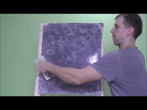 Имитация мрамора из обычной краски - YouTube