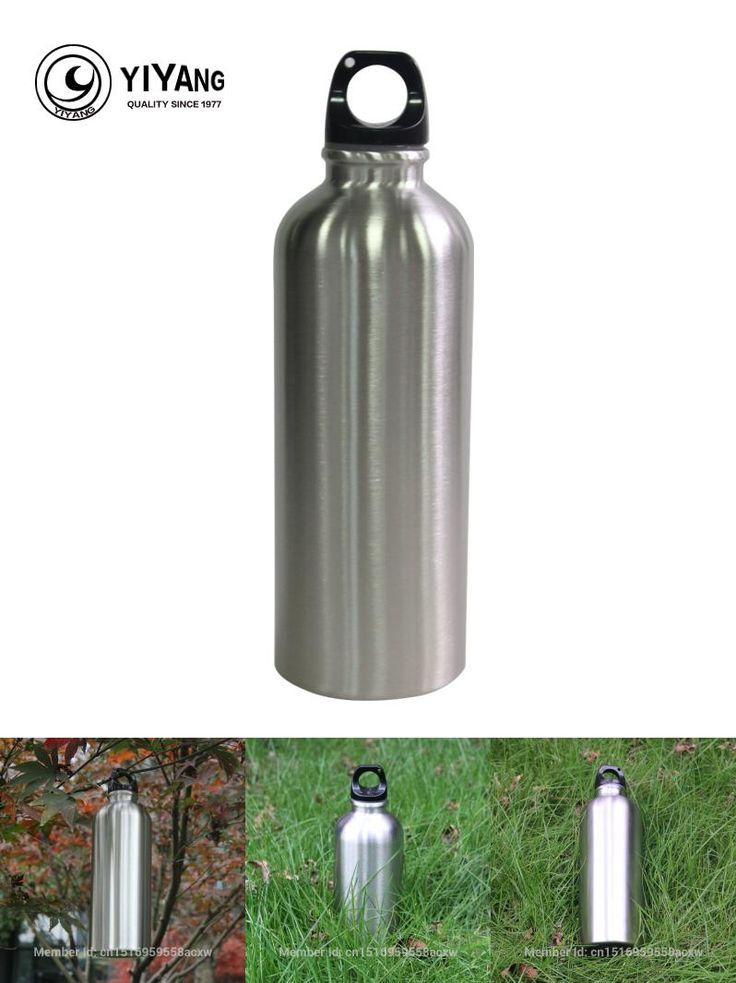 [Visit to Buy] 500ml Outdoor Sports Stainless Steel Water Bottle Botella Agua Bicicleta Drinkware My Bottle for Bicycle Bike  Portable Kettle #Advertisement