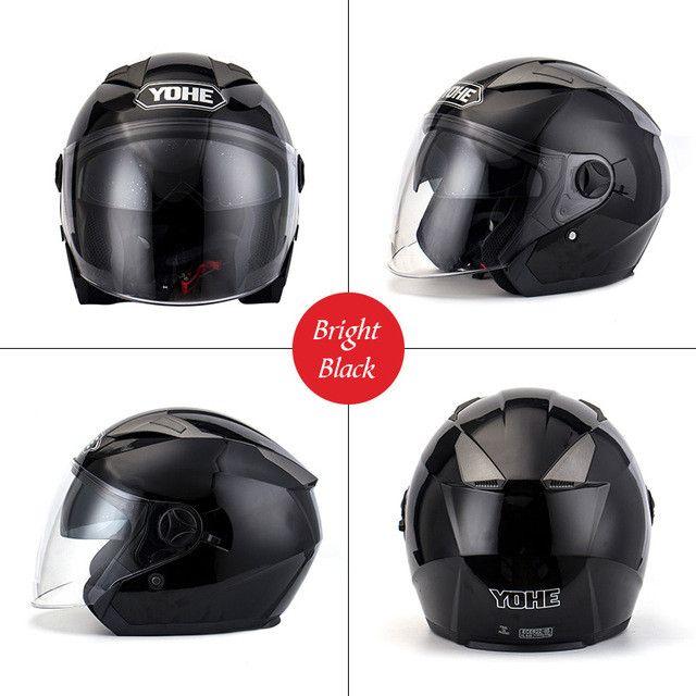 YOHE-YH-868 Motorcycle Helmets Ece Open Face Helmet Yohe Scooter Capacete Casco open face half face Helmet