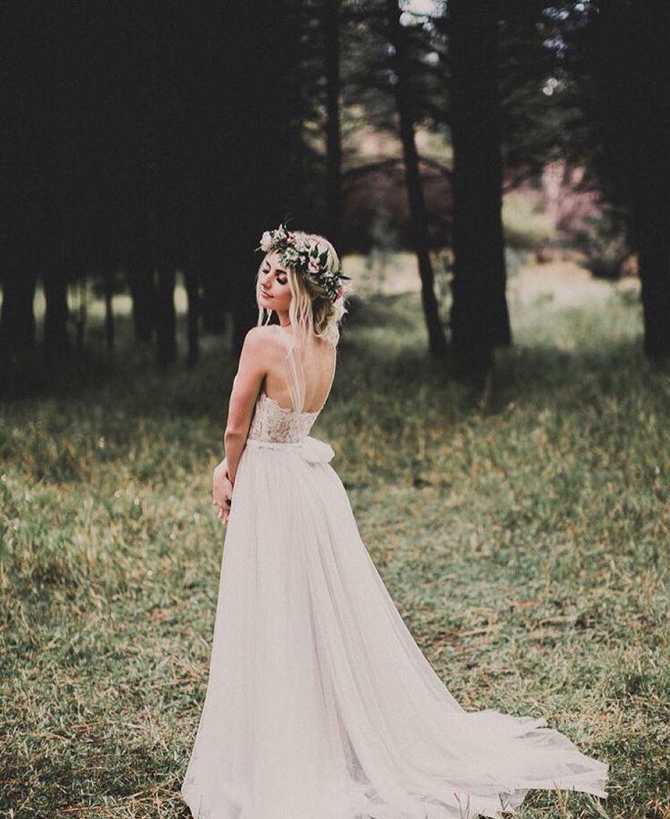 Aspyn Ovard's wedding dress