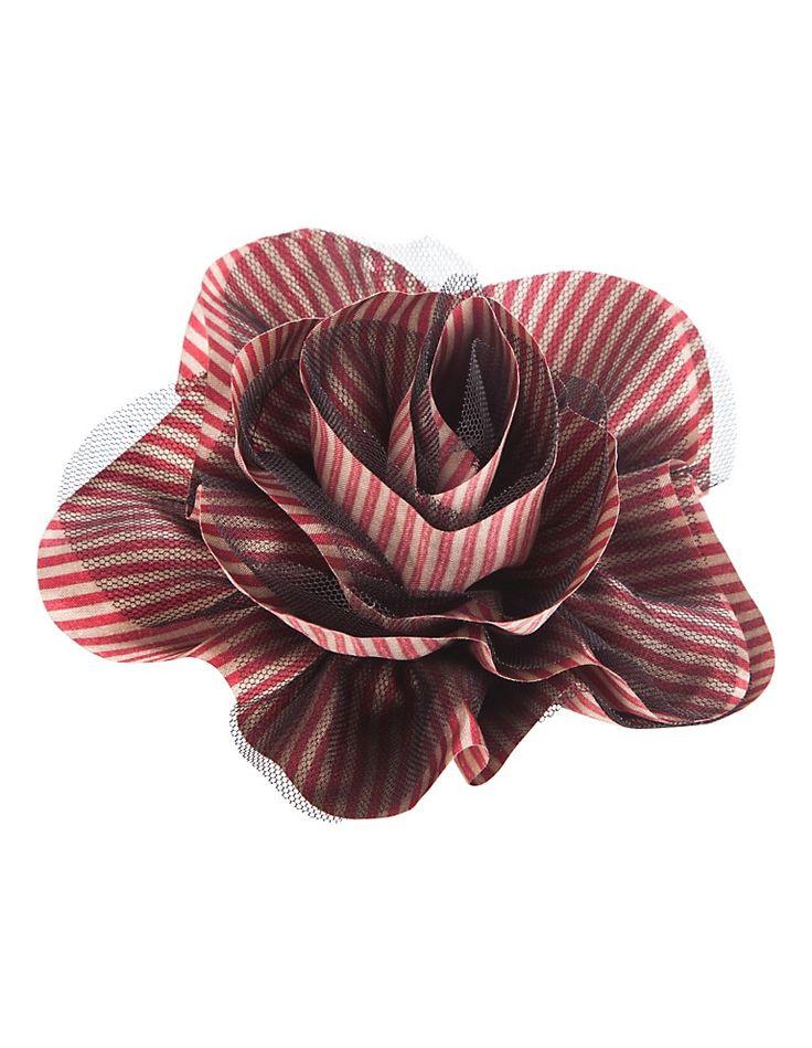 Blüten-Brosche aus Seide | MADELEINE Mode Schweiz