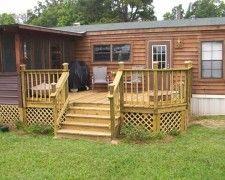home porch design collection mobile home back porch designs - Front Porch Designs For Mobile Homes