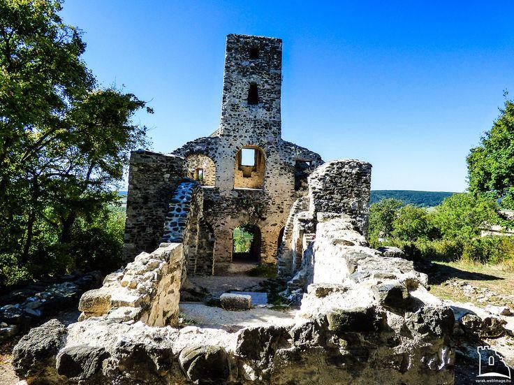 Szentbalázsi templomrom - Várak, kastélyok, templomok Magyaroszágon