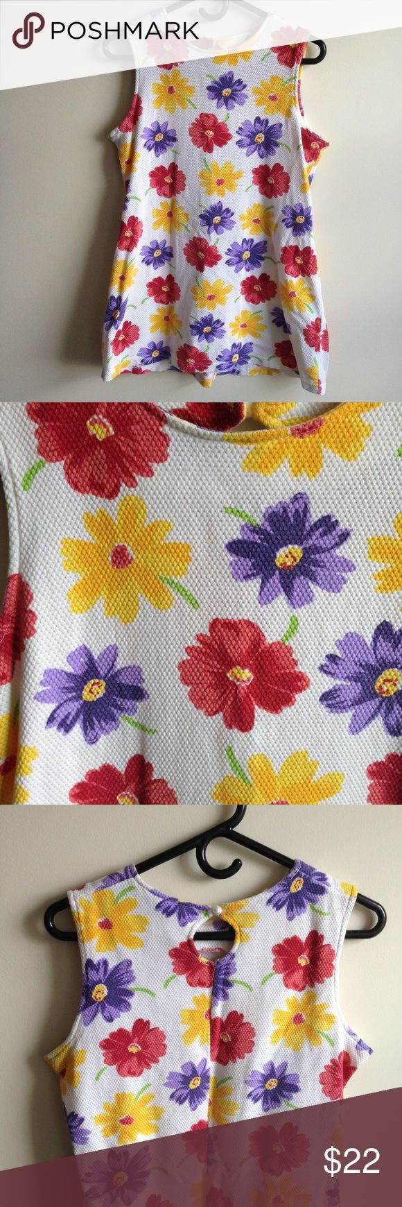 Love flower power daisy graffiti print cotton fabric 60s 70s retro - 90 S Vintage Flower Power Mini Dress Really Cool Fabric To This One This Dress Has