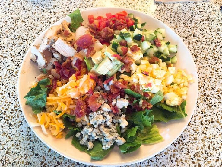 Pub Restaurant Copycat Recipes: BJ's Brewhouse Chopped Chicken Cobb Salad