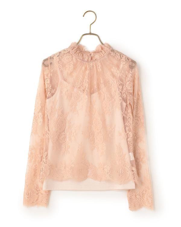インナーつきレーストップス|渋谷109で人気のガーリーファッション リズリサ公式通販