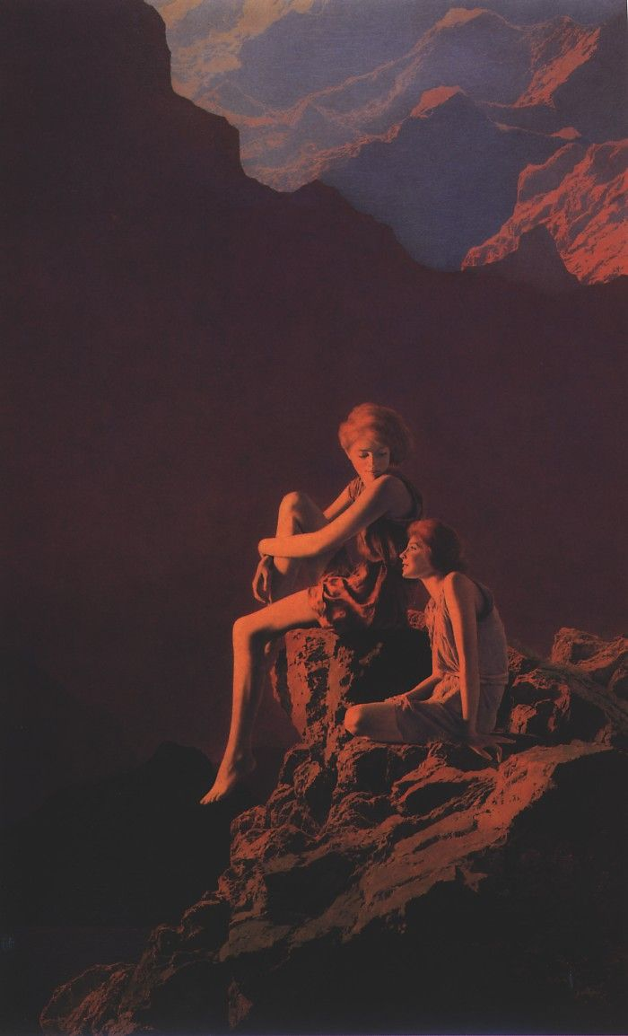 /// Maxfield Parrish (July 25, 1870 – March 30, 1966) | daily artist update