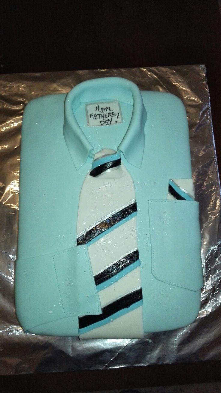Fathers day Shirt Choc cake