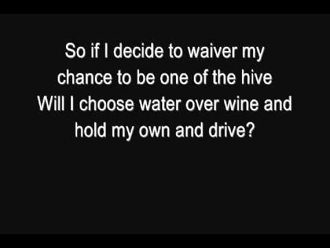 Incubus - Drive [Lyrics] [HQ] - YouTube  Lyrics link:  http://www.lyricsmode.com/lyrics/i/incubus/drive.html